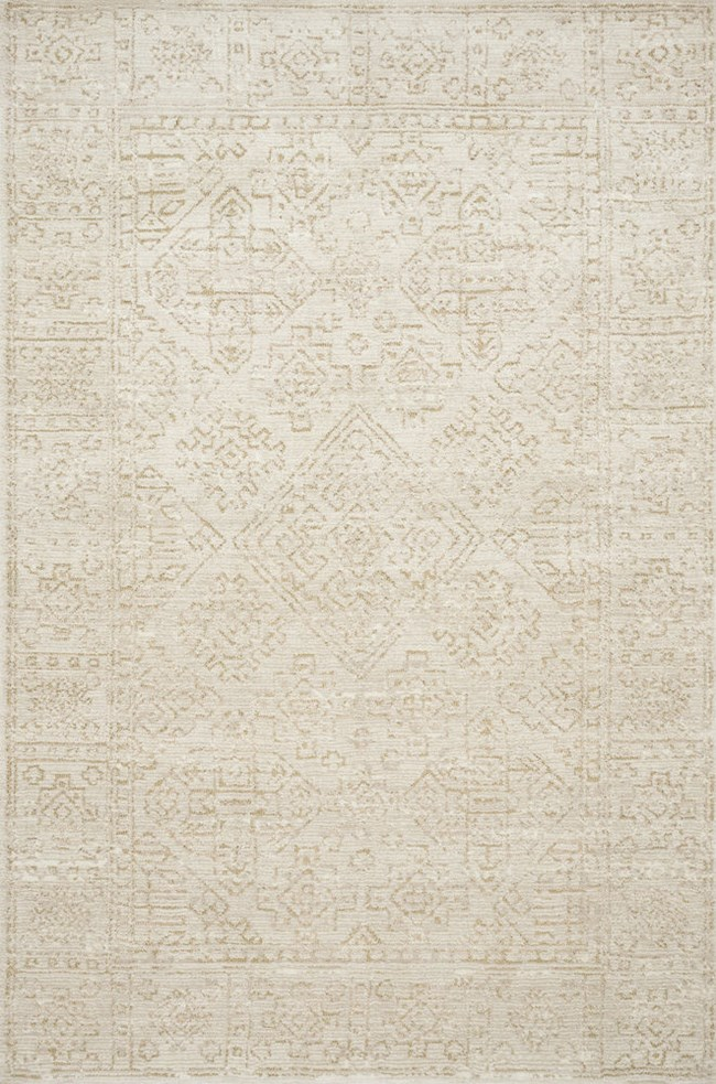 60X90 Rug-Magnolia Home Lotus Ivory/Cream By Joanna Gaines - 360