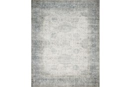 30X90 Rug-Magnolia Home Lucca Mist/Ivory By Joanna Gaines
