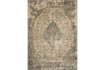 """7'6""""x10'8"""" Rug-Magnolia Homes Evie Sand/Multi By Joanna Gaines"""