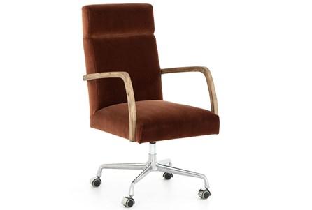 Burnt Auburn Desk Chair