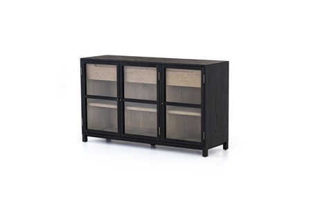 Dark Oak 3 Door Sideboard