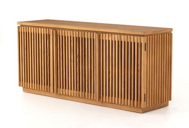 Smoked Drift Oak Sideboard - 360