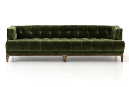 Super Deep Olive Velvet Sofa Machost Co Dining Chair Design Ideas Machostcouk
