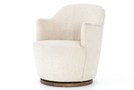 Round Natural Chair