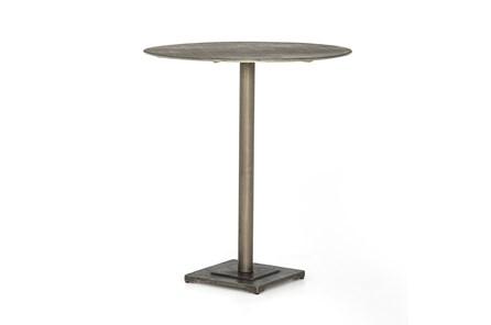 Antique Nickel Counter Table - Top
