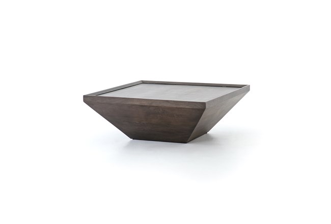 Coal Grey Coffee Table - 360