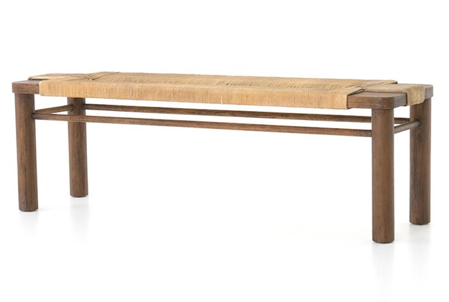 Russet Mahogany Vintge Bench - 360