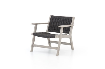 Grey Rope Outdoor Chair
