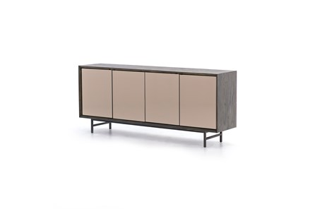 Ash Grey Bronze Gunmetal Sideboard
