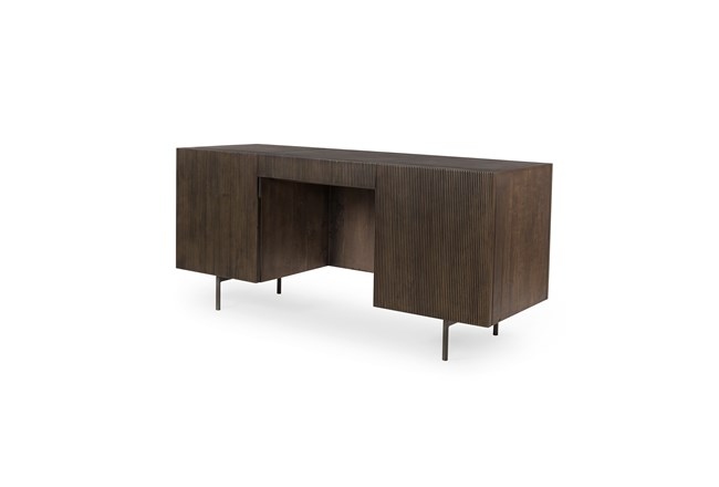 Toasted Brown Desk - 360
