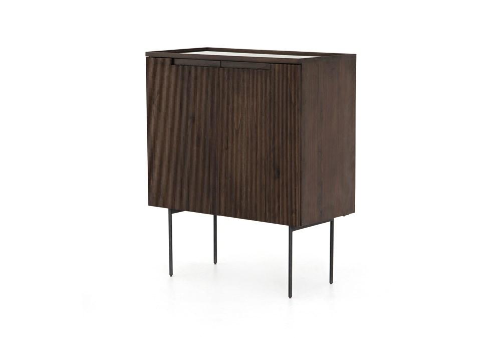 Warm Brown Bar Cabinet
