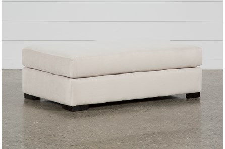 Cohen Foam II Cream Ottoman - Main