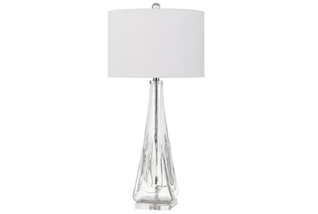 Table Lamp-Glass And Crystal