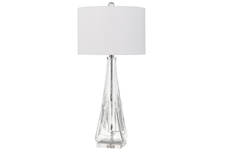 Table Lamp-Glass And Crystal - Main
