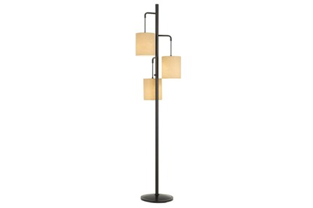 Floor Lamp- 3 Tier Dark Bronze - Main