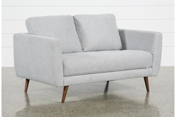 "Ginger Grey 60"" Loveseat"