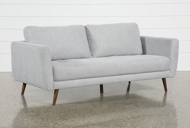 "Ginger Grey 79"" Sofa - 360"