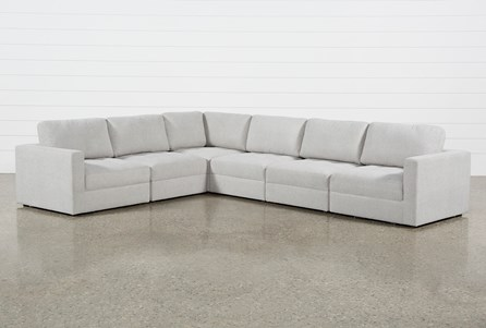 Mikhail Grey 6 Piece Sectional
