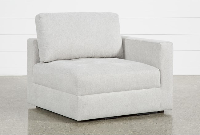 Mikhail Grey Right Facing Chair - 360