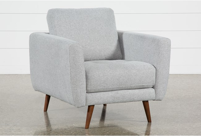 Ginger Grey Chair - 360