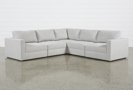 Mikhail Grey 5 Piece Sectional