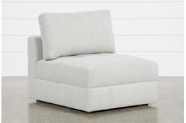 Mikhail Grey Armless Chair