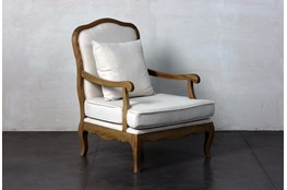 French Ash Accent Chair