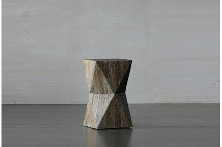 Faceted End Table - Main