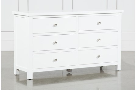 Larkin White Dresser - Main