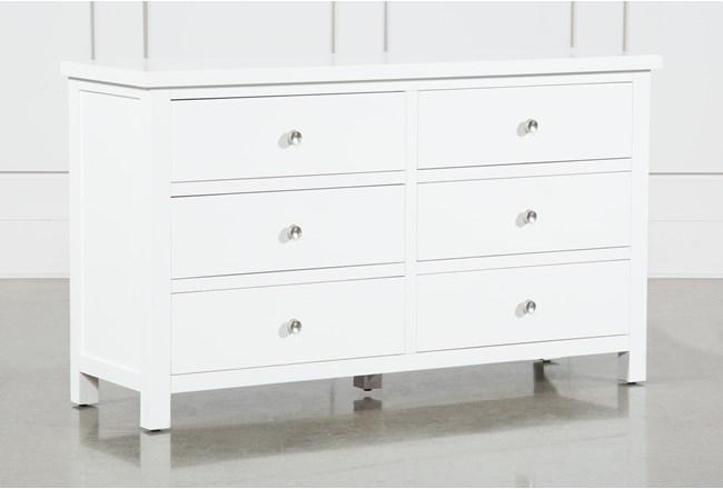 Larkin White Dresser - 360
