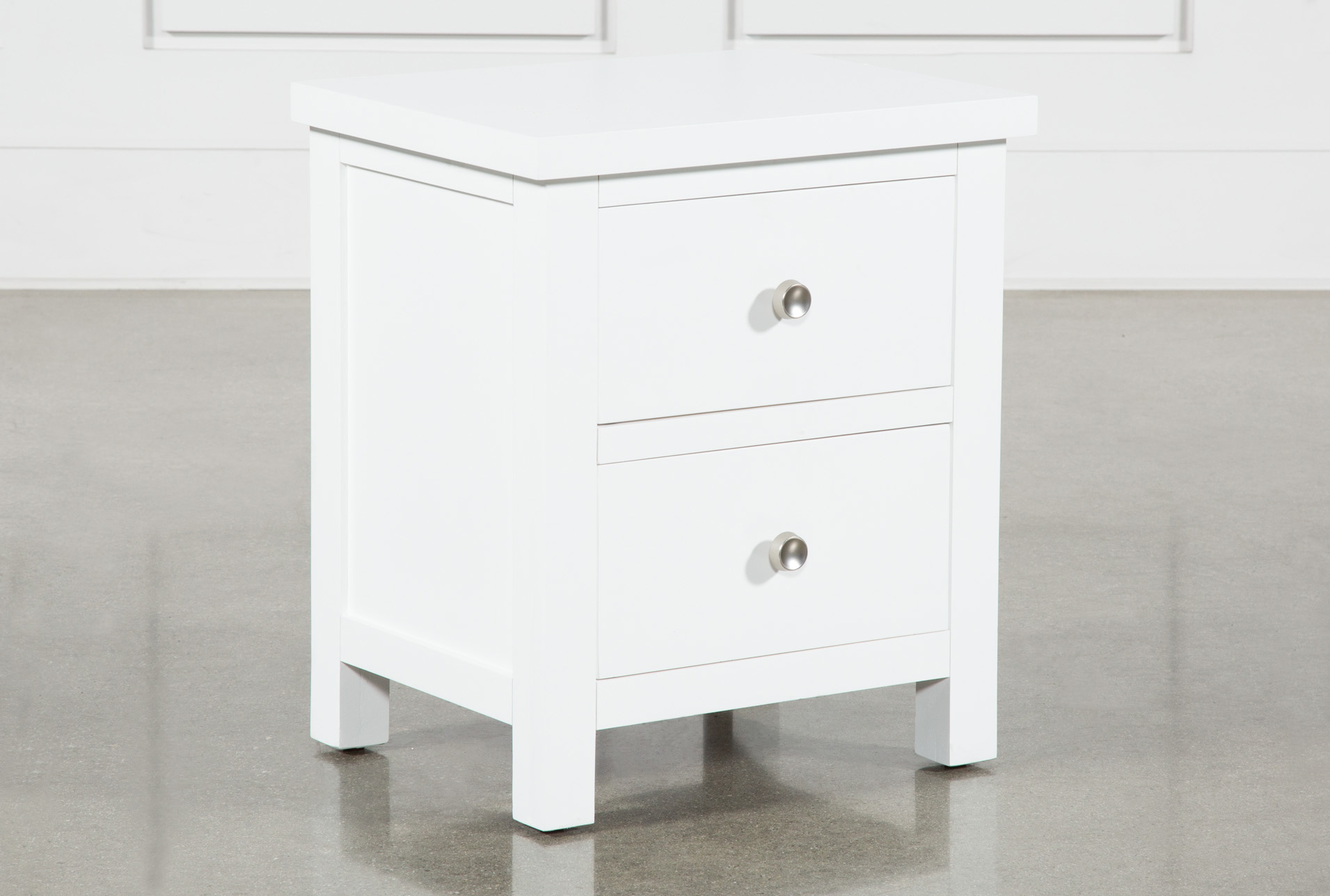 Larkin White Nightstand