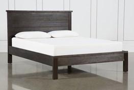 Larkin Espresso Eastern King Panel Bed