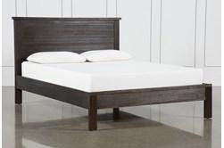 Larkin Espresso Queen Panel Bed