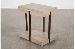 Pierce Natural Chairside Table
