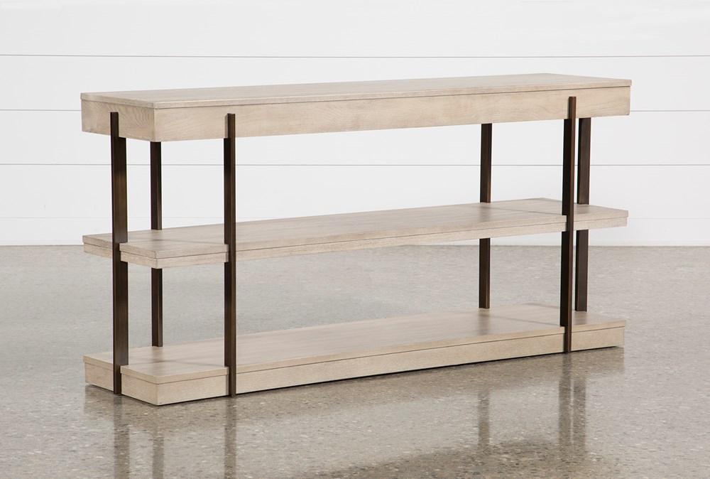 Pierce Natural Sofa Table