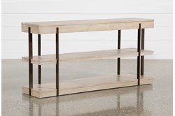 "Pierce Natural 62"" Sofa Table"