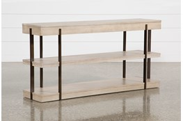 "Pierce Natural 62"" Sofa Table"