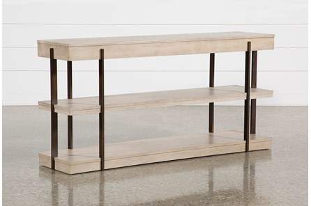 Pierce Natural Sofa Table