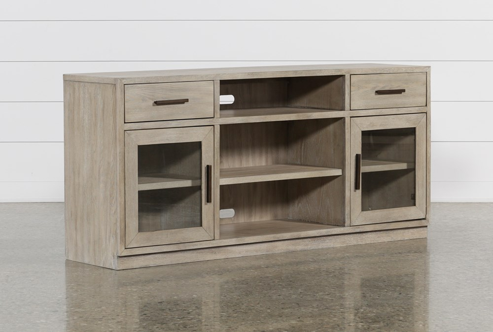 Pierce Natural 64 Inch Tv Stand