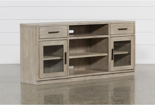 Pierce Natural 64 Inch Tv Stand - 360