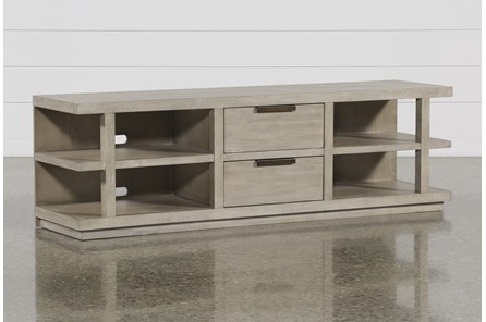 Pierce Natural 72 Inch Tv Stand