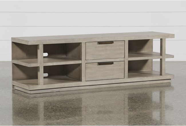 Pierce Natural 72 Inch Tv Stand - 360