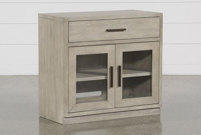 Pierce Natural Mini Desk Chest - 360