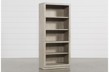 Pierce Natural Bookcase Pier