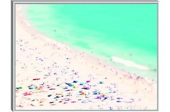 Picture-Beach Framed Canvas 41X31