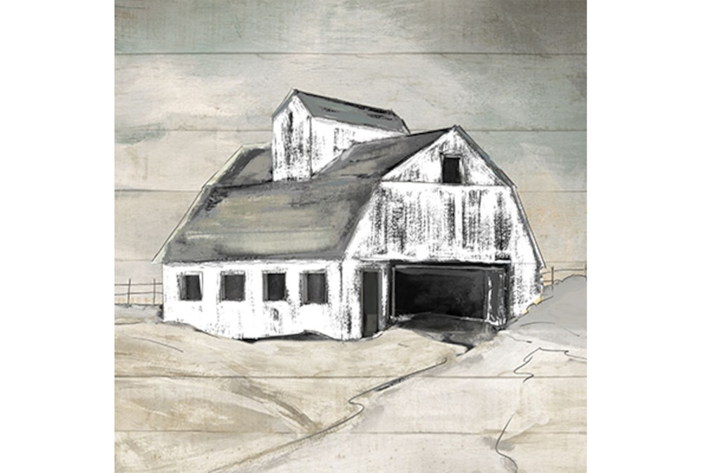 Picture-Barn Framed Canvas 28X28