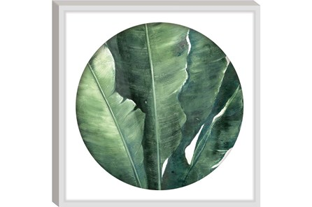 Picture-Round Framed Palm 26X26 - Main