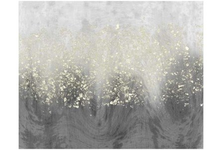 Picture-Grey Swirl Diamond Dust 36X24