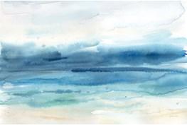 Picture-Coastal Landscape Embellished Canvas 40X30