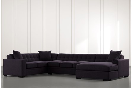 Costello II Black 3 Piece Sectional